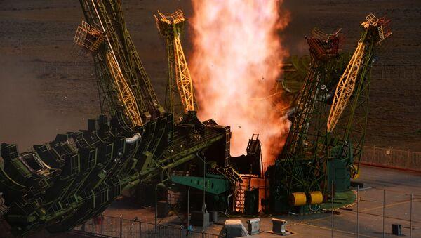 Пуск Союз-2.1а с  кораблем Союз МС-14 - Sputnik Беларусь