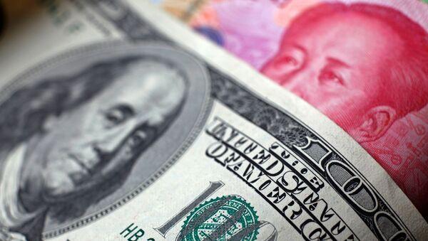 Амерыканскі долар і кітайскі юань - Sputnik Беларусь