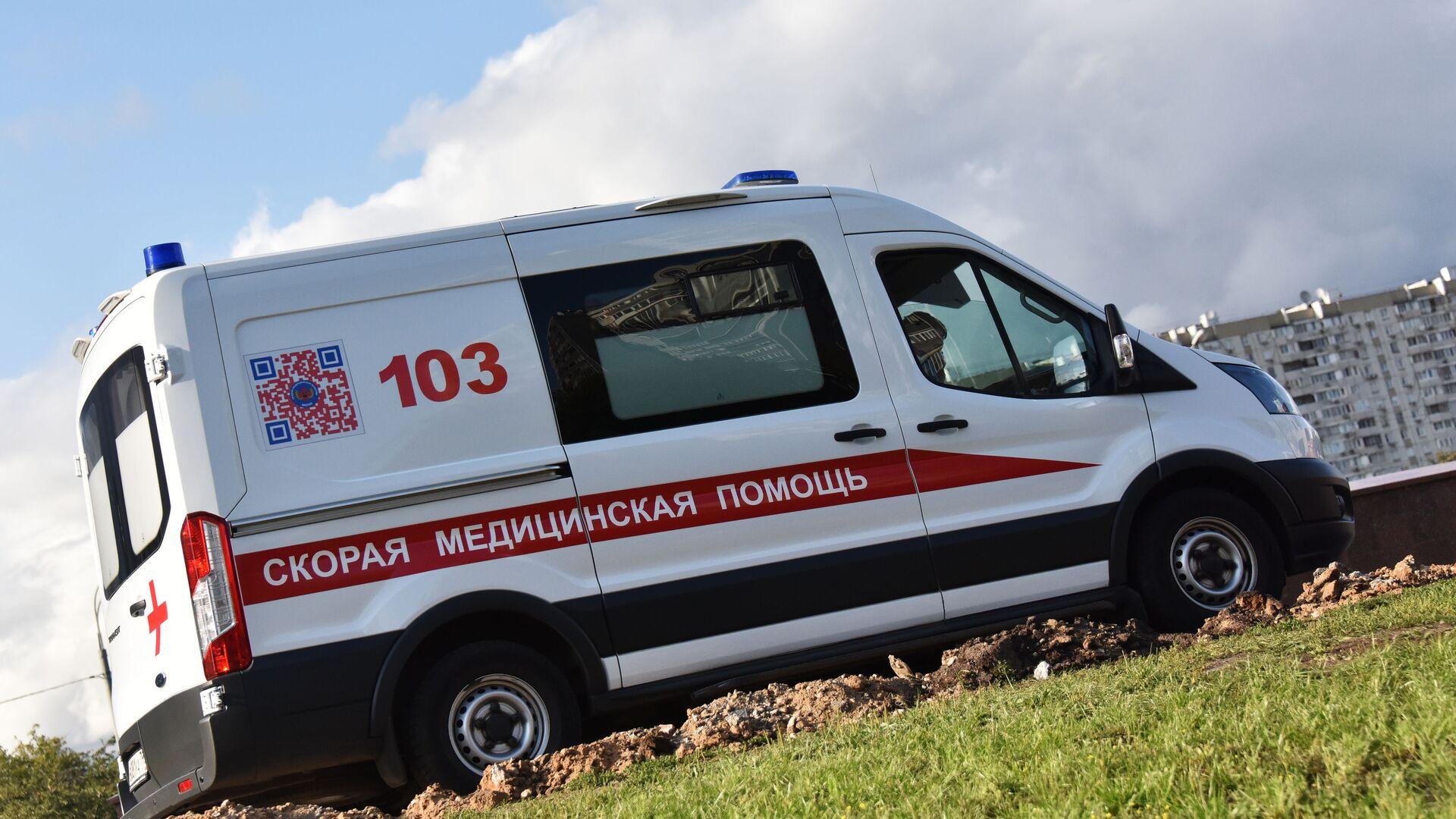 Автомобиль скорой медицинской помощи, архивное фото - Sputnik Беларусь, 1920, 23.09.2021