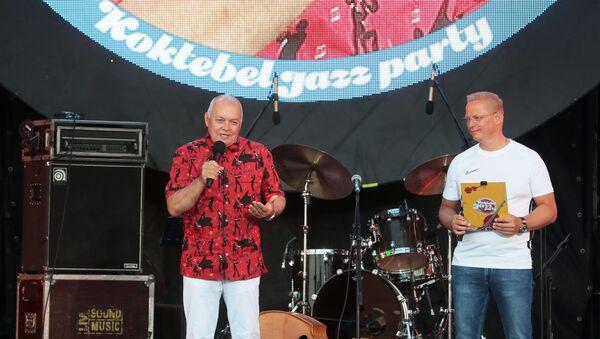 Председатель Оргкомитета Koktebel Jazz Party, генеральный директор МИА Россия сегодня Дмитрий Киселев - Sputnik Беларусь