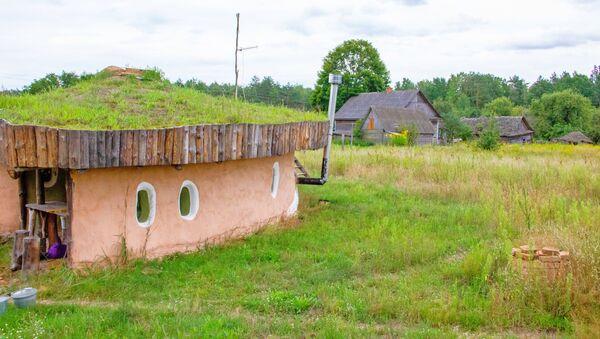 Сельчане уже привыкли к необычным домикам на опушке деревни - Sputnik Беларусь