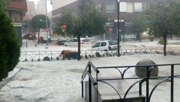 Наводнение в Мадриде - Sputnik Беларусь