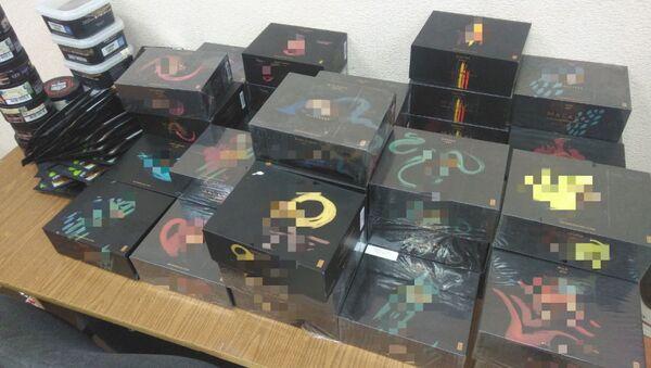 Столичная милиция изъяла партию табака для кальяна на 8,5 тысячи рублей - Sputnik Беларусь