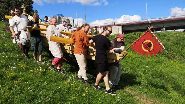 Чэрап Валодзя і пяць гадоў працы, або Як у Віцебску будавалі лодку вікінгаў - Sputnik Беларусь