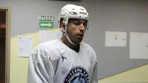 Канадский нападающий минского Динамо Франсис Паре - Sputnik Беларусь