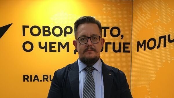 Независимый политический аналитик Александр Асафов - Sputnik Беларусь