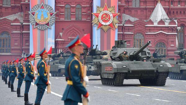 Военный парад, посвящённый 74-й годовщине Победы в Великой Отечественной войне - Sputnik Беларусь