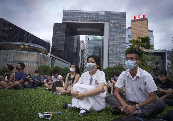 Гонконг – город с очень неравномерным распределением богатства - Sputnik Беларусь