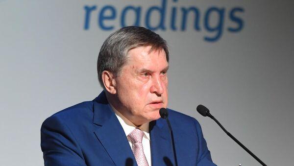 Помощник президента РФ Юрий Ушаков - Sputnik Беларусь