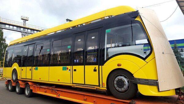 Белорусский электробус в Ташкенте - Sputnik Беларусь