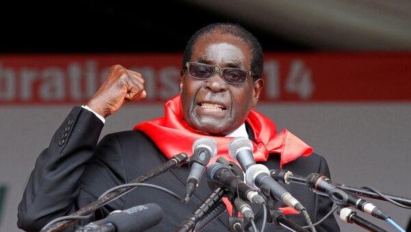 Бывший президент Зимбабве Роберт Мугабе  - Sputnik Беларусь