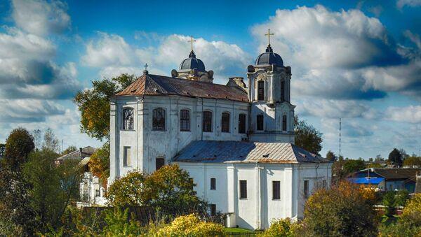Иезуитский костел в Мстиславле - Sputnik Беларусь