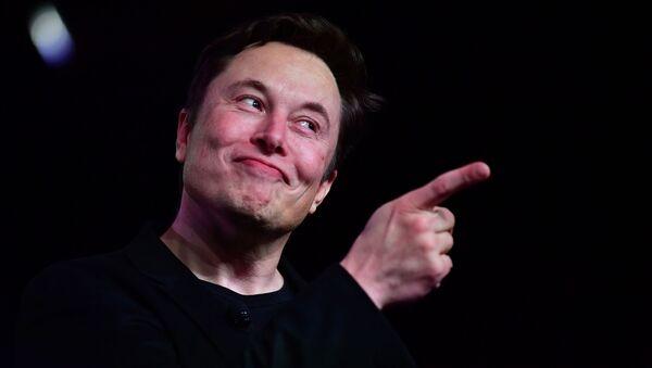 Заснавальнік Tesla Ілон Маск, архіўнае фота - Sputnik Беларусь