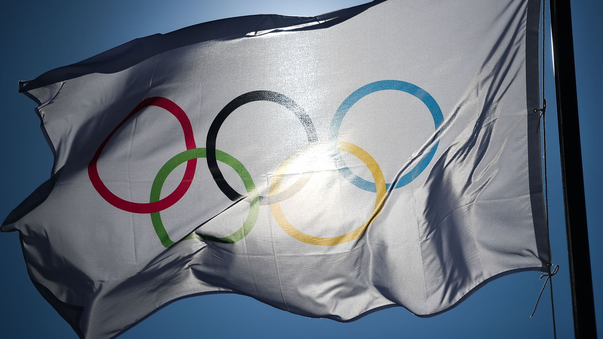 Олимпийский флаг, архивное фото - Sputnik Беларусь, 1920, 22.04.2021