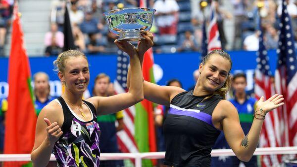 Сабаленка і Мертэнс перамаглі на US Open у парным разрадзе - Sputnik Беларусь
