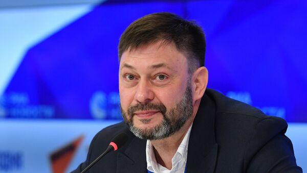 Прэс-канферэнцыя Кірыла Вышынскага - Sputnik Беларусь