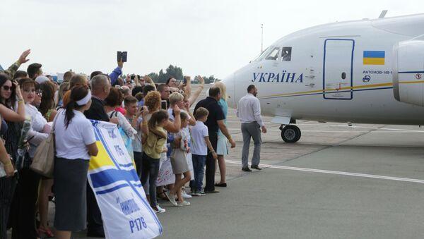 Участники договоренности об освобождении между Россией и Украиной прилетели в Борисполь - Sputnik Беларусь