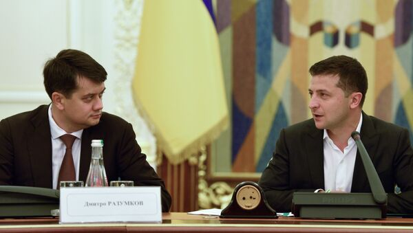 Встреча В. Зеленского с представителями рады и кабинета министров Украины - Sputnik Беларусь