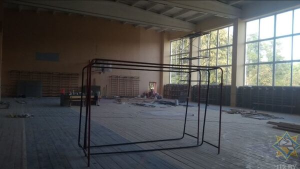 Пожар в аграрном колледже в Ляховичах - Sputnik Беларусь