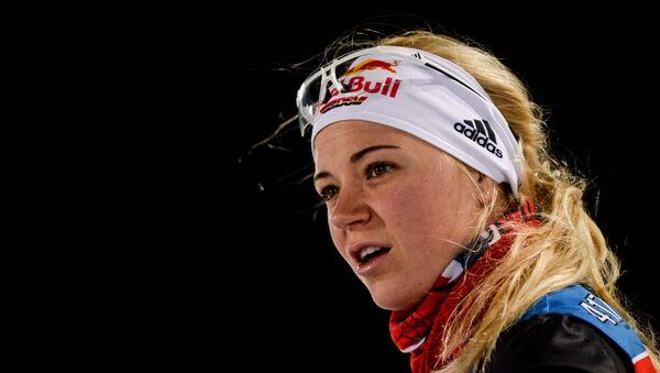 Немецкая биатлонистка Мириам Гесснер - Sputnik Беларусь