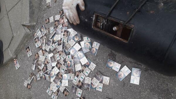 Найденные в машине сигареты - Sputnik Беларусь