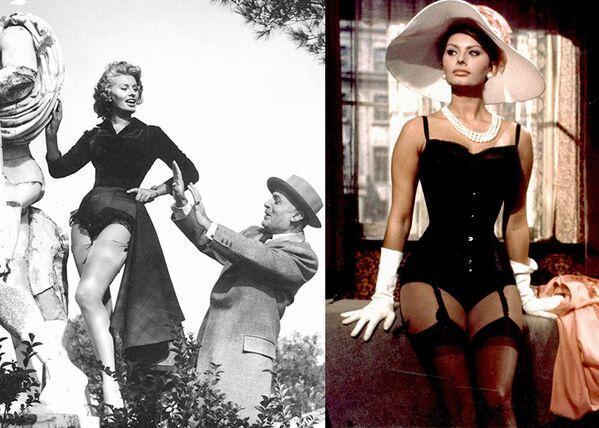 Кадры из фильмов Счастье быть женщиной (1956) и Миллионерша (1960).  - Sputnik Беларусь