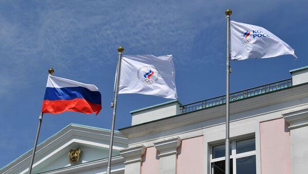 Сцягі Расіі і АКР - Sputnik Беларусь