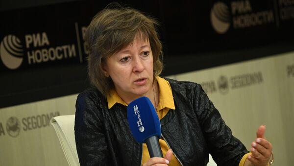 Член коллегии (министр) по торговле Евразийской экономической комиссии Вероника  Никишина   - Sputnik Беларусь