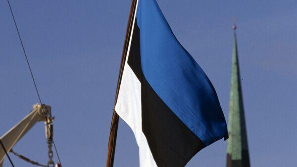 Дзяржаўны сцяг Эстоніі  - Sputnik Беларусь