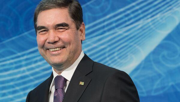 Президент Туркменистана Гурбангулы Бердымухамедов - Sputnik Беларусь
