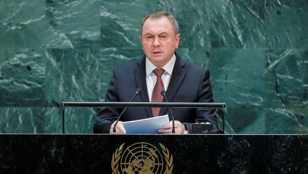 Министр иностранных лел Беларуси Владимир Макей - Sputnik Беларусь