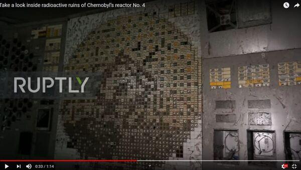Журналістаў пусцілі ў чацвёрты энергаблок Чарнобыльскай АЭС – відэа - Sputnik Беларусь