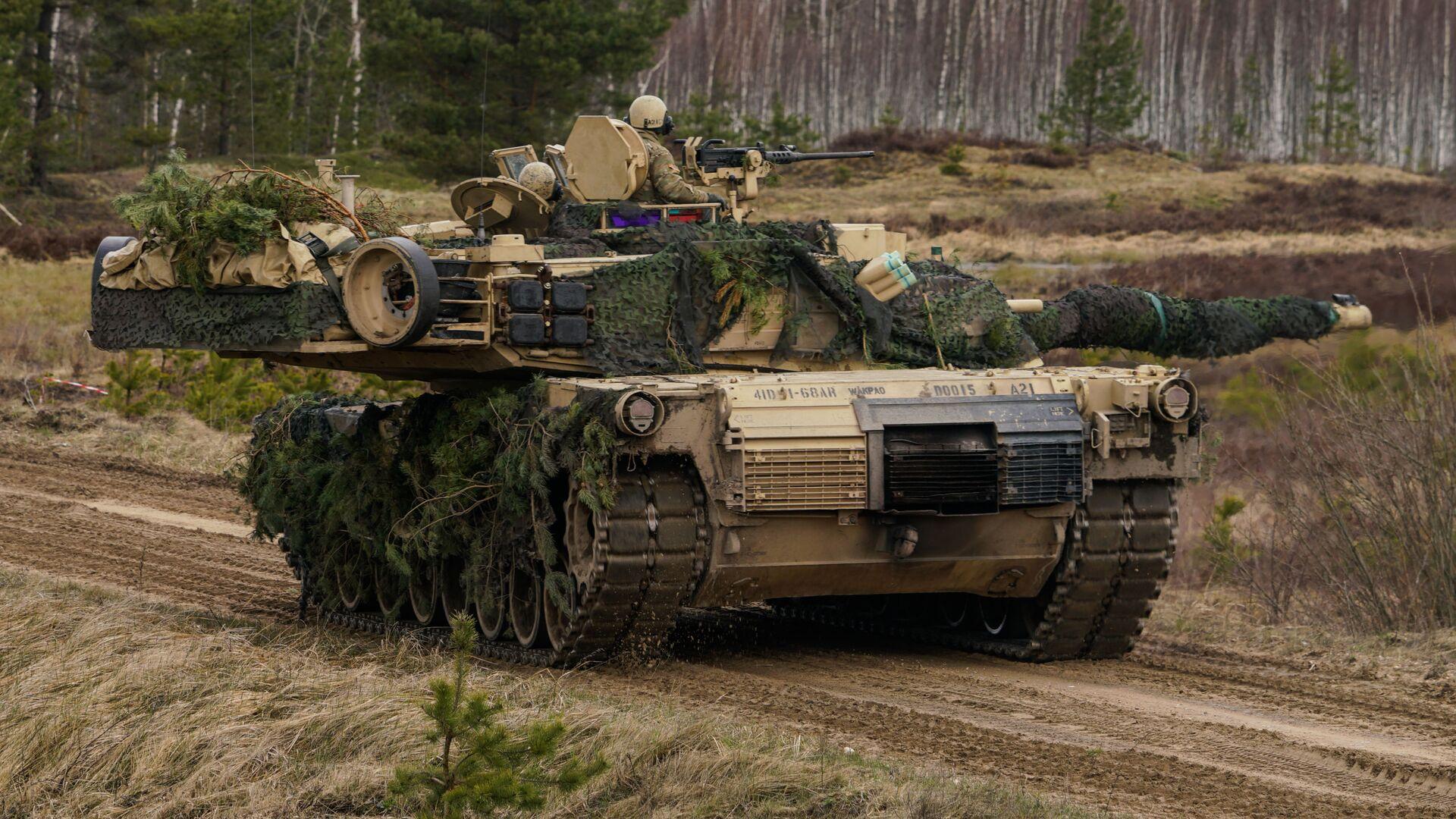 Танк M1 Abrams, архивное фото - Sputnik Беларусь, 1920, 23.09.2021