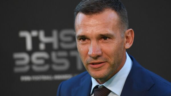 Главный тренер сборной Украины Андрей Шевченко - Sputnik Беларусь