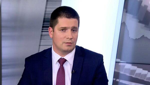 Намеснік міністра адукацыі Беларусі Аляксандр Кадлубай - Sputnik Беларусь