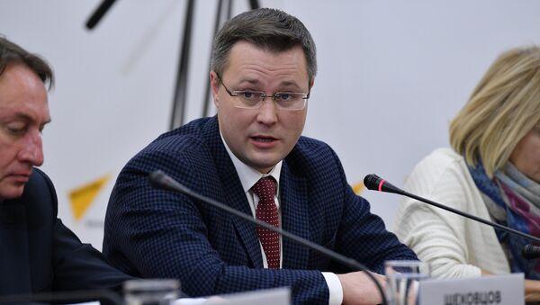 Председатель Белорусского союза журналистов, политобозреватель Андрей Кривошеев - Sputnik Беларусь