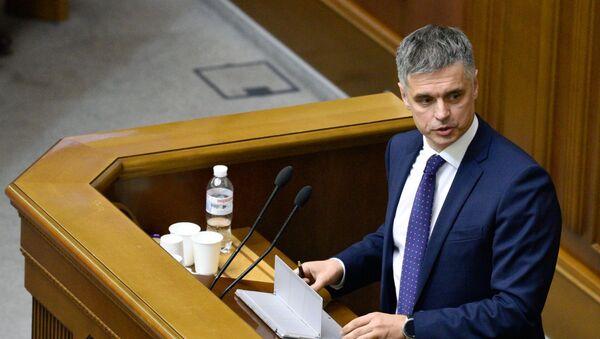 Министр иностранных дел Украины Вадим Пристайко  - Sputnik Беларусь