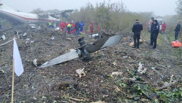 Три человека погибли при аварийной посадке Ан-12  - Sputnik Беларусь