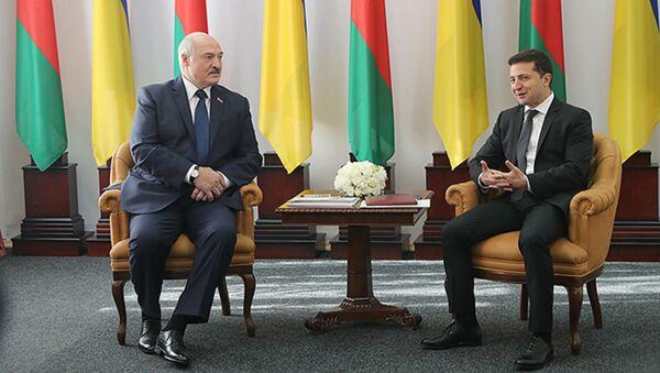 Переговоры Александра Лукашенко с президентом Украины Владимиром Зеленским - Sputnik Беларусь