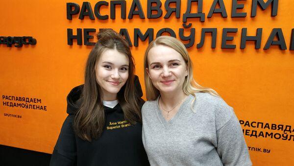 Ліза Міснікава: перад Еўрабачаннем дайсці да школы пакуль не вельмі атрымліваецца - Sputnik Беларусь