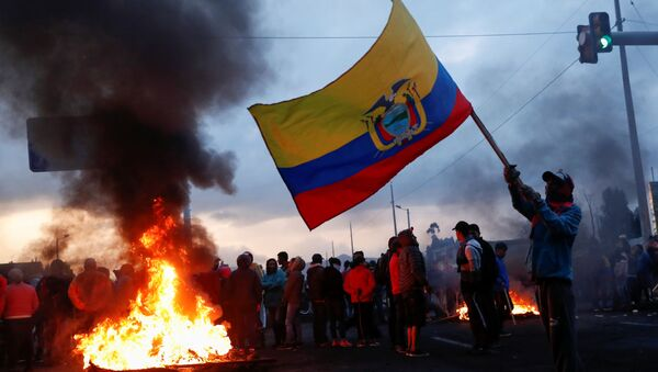 Беспорядки в Эквадоре - Sputnik Беларусь