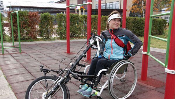 Паралимпийская чемпионка Людмила Волчек тренируется каждый день - Sputnik Беларусь
