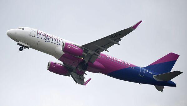 Самолет авиакомпании Wizz Air, архивное фото - Sputnik Беларусь