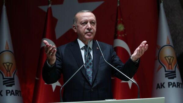 Президент Турции Реджеп Тайип Эрдоган  - Sputnik Беларусь