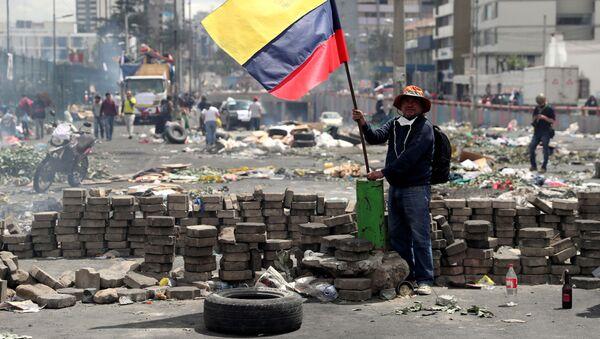 Протесты в Эквадоре - Sputnik Беларусь