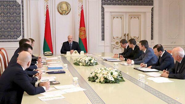 Совещание у президента Беларуси Александра Лукашенко по развитию цифровой сферы - Sputnik Беларусь