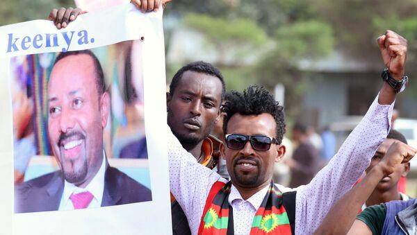 Нобелевскую премию мира в 2019 году получил премьер-министр Эфиопиии Абий Ахмед Али - Sputnik Беларусь