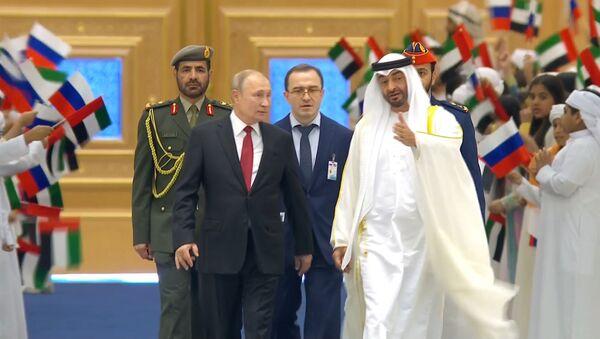 Президент России Владимир Путин прибыл с официальным визитом в ОАЭ - Sputnik Беларусь