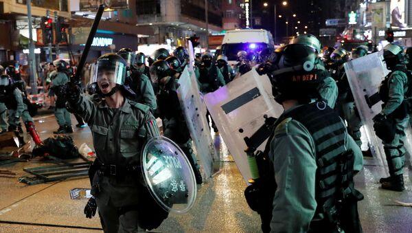 Протесты в Гонконге - Sputnik Беларусь