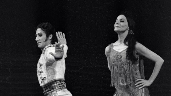 Солистка Кубинского балета Алисия Алонсо - Sputnik Беларусь